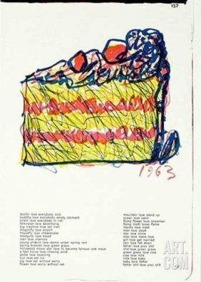 """Claes Oldenburg """"taille"""""""