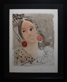 "Salvador Dali ""portrait Of Carmen"""