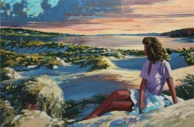 "Howard Behrens ""summer Sunset"""