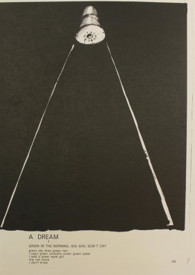 Jim Dine, Lithograph From One Cent Life