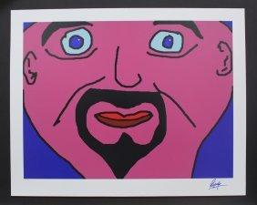 """Ringo Starr """"big Close Up"""""""