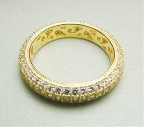 Diamonds Creation Eternity Ring 2.00ct 18ky/g Overlay