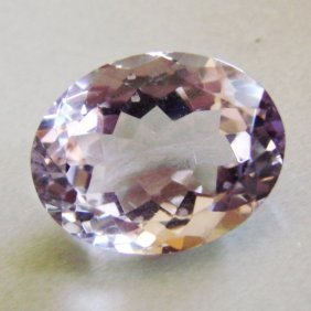 Genuine Pink Amethyst Oval 20.09ct 21x15.4x10.5mm