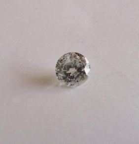 "Cert Diamond Round Shape 1.03ct Si3 ""h"""