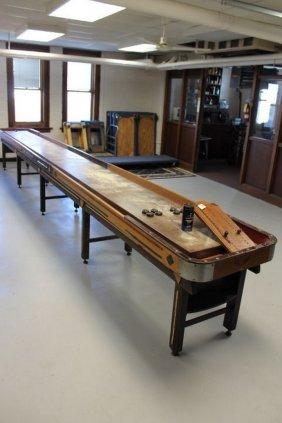 22 Ft Regulation Antique Penn Shuffleboard