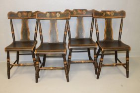 Civil War Col George Hay 1840s Set Chairs-signed