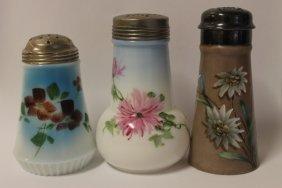 Victorian Glass Sugar Shakers
