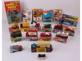 Ten Mint In Box Matchbox Series 1-75 And More Includ
