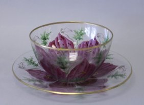 LOBMYER BOWL AND PLATE