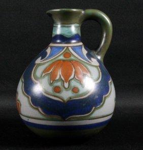 Ceramic Hand Painted Vase