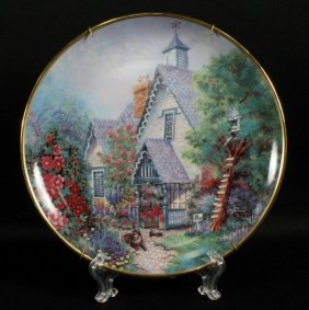 China Custom Creations Porcelain Plate
