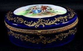 Sevres Style Porcelain Box