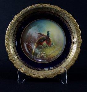Antique Kpm Sevres Plate