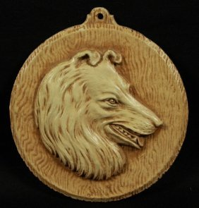 Wooden Pendant Of Wolf