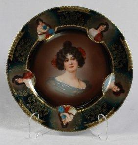 Bavaria Royal Vienna Style Plate