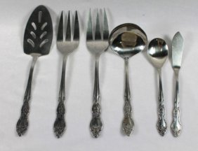 Set Of 6 Sterling Silver Misc Silverware