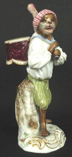 Meissen Monkey Porcelin Figure