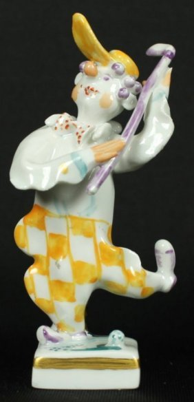 Meissen Figure Of Golfer