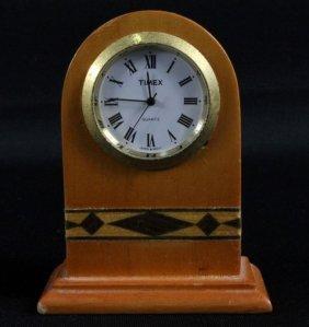 Timex Wooden Decoration Clock