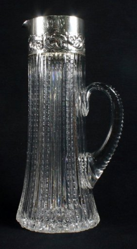 Sterling Silver Glass Decanter