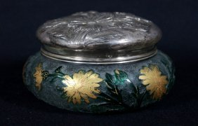 Daum Nancy Powder Jar