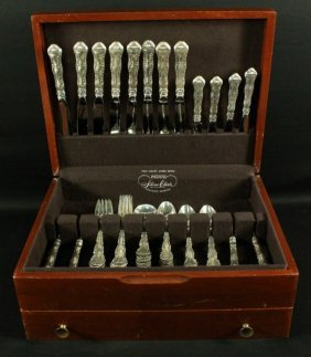 Gorham Sterling Silverware Set 56 Pcs.