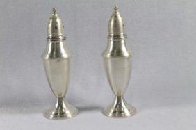 Fisher Sterling Silver Salt And Pepper Shaker