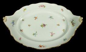 19th C. Meissen Platter