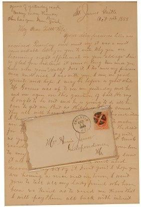 Frank James Letter