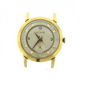 Lecoultre 14k Gold Manual Wind Watch