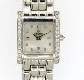 Concord 14k Gold Diamond Lady's Watch