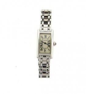 Cartier Tank Americaine 18k Gold Lady's Watch