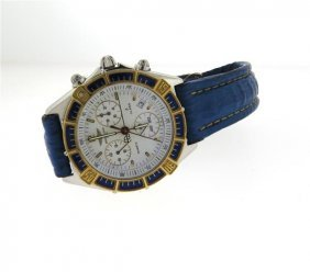 Breitling J Class Steel Gold Men's Watch D53067