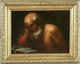 PAOLO BARBIERI - San Gerolamo Con Il Libro.