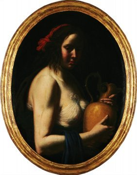 GIOVANNI MARTINELLI - Donna Con Brocca.