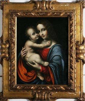 MARCO D'OGGIONO - Madonna Con Bambino.