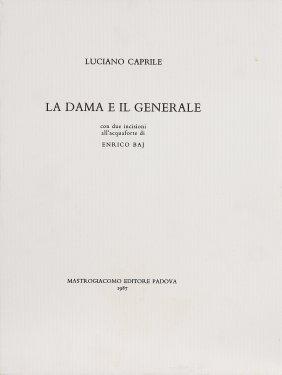 ENRICO BAJ - La Dama E Il Generale