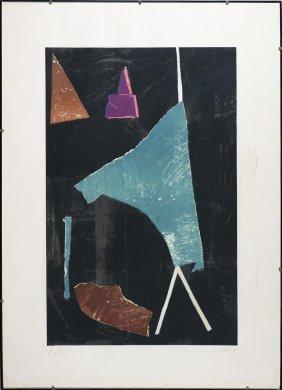 LANSKOY ANDRE' (1902 - 1976) - Senza Titolo.