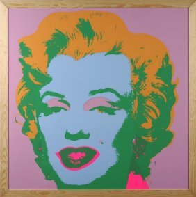 WARHOL ANDY (1928 - 1987) - Marilyn