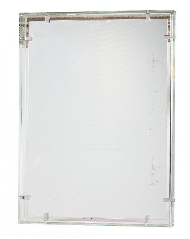 Fontana arte specchio incorniciato in lastra di lot 270 for Lots specchio
