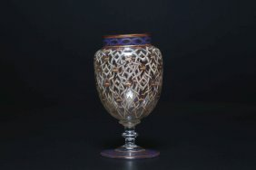 Arte Islamica A European Glass Beaker For The Islamic