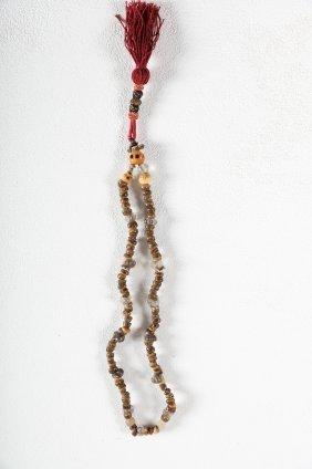 Arte Himalayana A Bone And Crystal Mala Tibet, 18th -