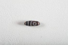 Arte Himalayana A Small Two Eyed Dzi Tibet, 19th