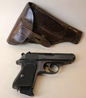 Walther Antique Ppk & Original Holster