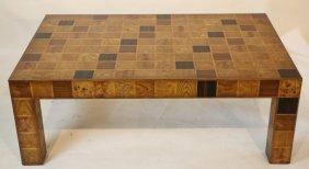 Modern Inlaid Coffee Table