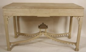 Chinese Chelsea House Pagoda Console Table