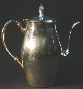 Vintage Silver Plate Coffee Pot