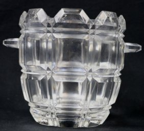 Cut Glass Ice / Champagne Bucket