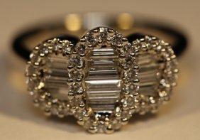 14kwg Ladies 1.57 Carat Ladies Engagment Ring