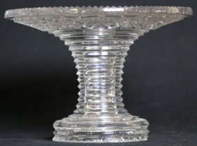 Brilliant Cut Glass Center Bowl